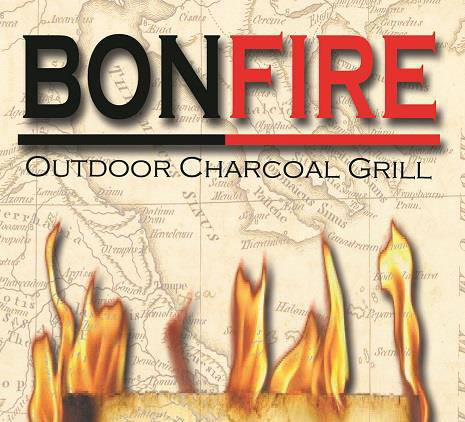 Bon Fire Outdoor Charcoal Grill